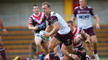Daly Cherry-Evans was the difference as Manly got themselves on the board in round two.