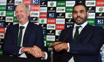 Take care: Rabbitohs coach Wayne Bennett says salary cap issues run a distant second to Greg Inglis' welfare.