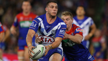 Adam Elliott has been a star for a poor Bulldogs team for the past three years.