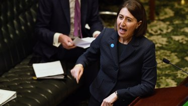 NSW Premier Gladys Berejiklian told question time on Tuesday that ICAC's funding had increased by 50 per cent since 2011.