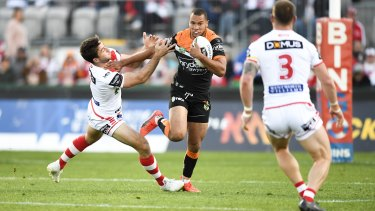 Moses Mbye is off to the St George Illawarra Dragons next year.