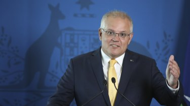 Prime Minister Scott Morrison will deliver a speech to the National Press Club in Canberra on Monday.