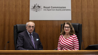 Royal commissioners Tony Pagone, QC, and Lynelle Briggs, began hearing final submissions on Thursday from counsel on future recommendations to reform Australia's aged care system.