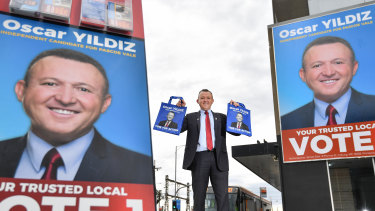 Oscar Yildiz ran as an independent in Labor's safe seat of Pascoe Vale.