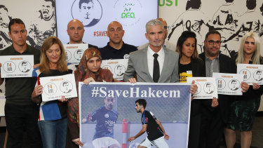 Hakeem al-Araibi's supporters called on the Australian government to ramp up its fight to bring home the young player.