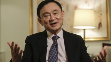 Thailand's former Prime Minister Thaksin Shinawatra pictured in 2016 in New York.