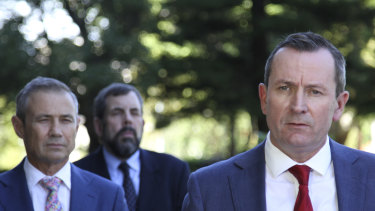 WA Premier Mark McGowan
