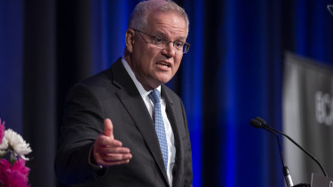 Scott Morrison took a jab at the inner city while speaking at the BCA dinner this week.