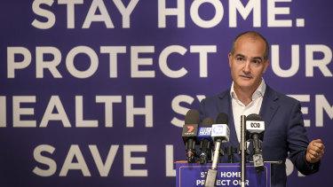 Education Minister James Merlino has hit out at the federal government for attempting to lure independent schools back to the classroom.