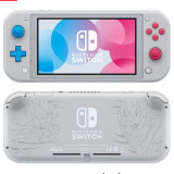 The special edition Pokemon-themed Switch Lite.