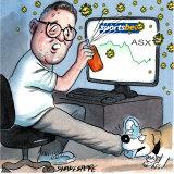 Sportsbet boss Barni Evans. Illustration: John Shakespeare