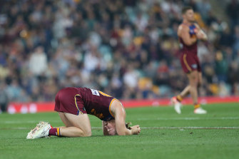 Brisbane were knocked out of the 2019 finals series in straight sets.
