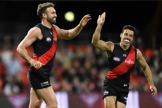 Cale Hooker (left) has already announced his retirement.