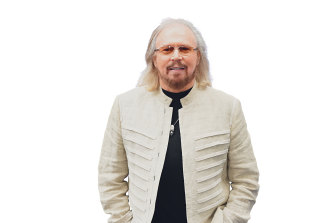 "Barry Gibb: ""I don't care about money. Of course you've got to have it but I don't make it an obsession."""