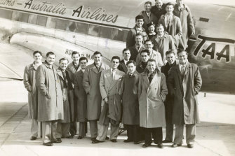 The South Melbourne team flew to Albury for their encounter with North Melbourne.