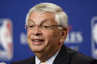 Former NBA commissioner David Stern has died.