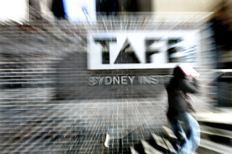 TAFE NSW staff are bracing for job cuts.