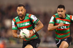 Benji Marshall and Cody Walker will form the new Souths halves pairing.