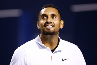 """Nick Kyrgios is always """"box office"""", but which one will turn up to the US Open, starting Monday?"""