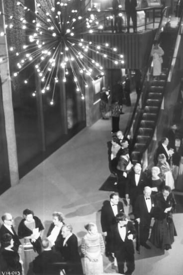 The opening of the NGV in 1968.