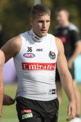 Brayden Sier has been biding his time in Collingwood's VFL side.