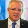 'Take it down a few notches': Morrison urges calm as fire blame game escalates