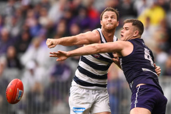 Geelong have delisted Lachie Henderson.