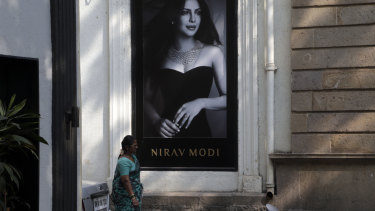 A Nirav Modi boutique in Mumbai.