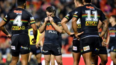 A loss to the Warriors on Friday night has put paid to the Panthers' slim finals hopes.