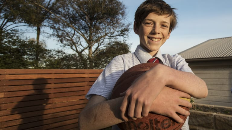Years after his diagnosis, Aidan Fisk is now thriving.