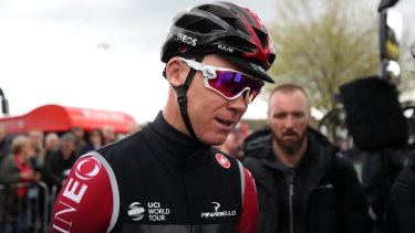 Chris Froome sustained multiple fractures in a high-speed crash.