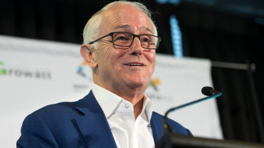 Author in the wings: Malcolm Turnbull's upcoming political memoir, A Bigger Picture, has been scheduled for release in September.
