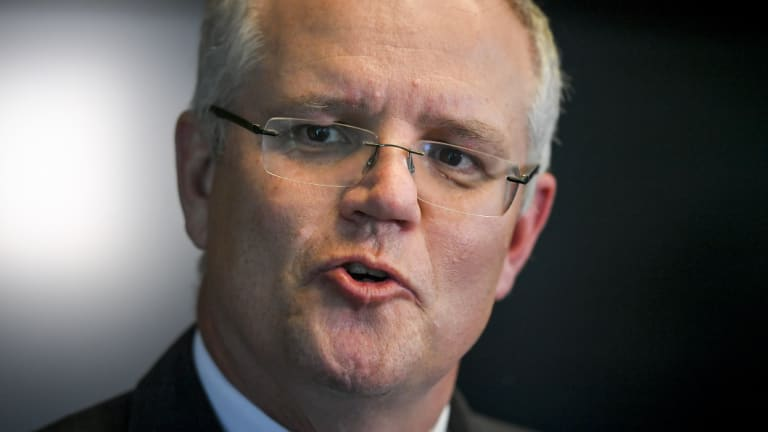 Treasurer Scott Morrison has pushed policies to encourage competition from fintech firms.