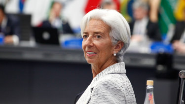 """IMF boss Christine Lagarde: The IMF warned this year that CCPs """"increase the risk of a failure of the infrastructure itself"""" and could lead to a """"catastrophe"""" if the all layers of defence were overrun by a big default."""