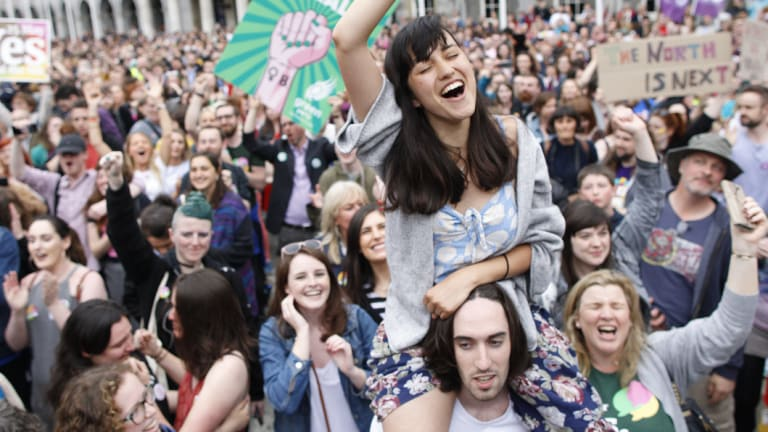 Ireland voted overwhelmingly to repeal it's anti-abortion laws.