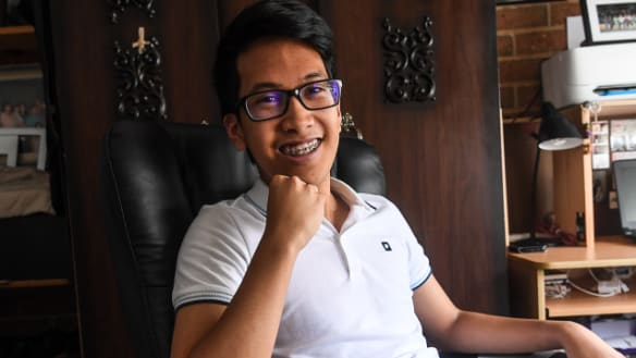 Jerome wept when he received his results. He'd just made history