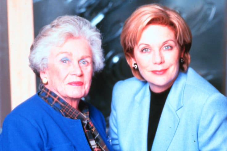 Dame Beryl Beaurepaire and Ita Buttrose, 1999.