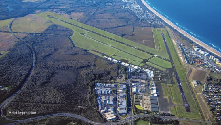 John Holland will build the new 2.45-kilometre-long runway at the Sunshine Coast Airport by 2020.
