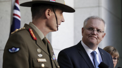 Morrison politicised war medals decision and now owns the response