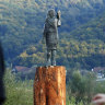 Melania Trump statue returns in Slovenia. (This one won't burn)