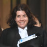 Sue Chrysanthou, SC, is acting for Christian Porter in his defamation case against the ABC.