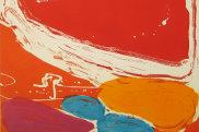 'Makarrki', 2009 (detail) by Mirdidingkingathi Juwarnda Sally Gabori. Etching, Edition of 25, 49 x 49.5cm.