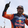 Australian Price wins second Dakar motorcycling title