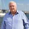 Clive Palmer pictured in November 2020.