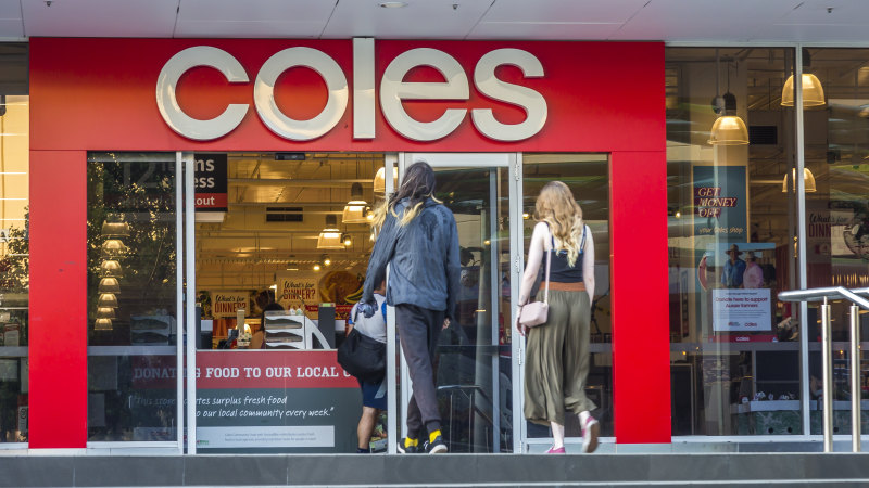 Private label products help Coles boost profits in first half