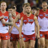 Sydney Swans won't bottom out: CEO