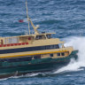 Sydney's 'beloved' Manly ferries face prospect of last sailings