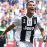 Ronaldo finally off the mark, Costa dismissed for spitting