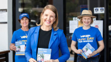 The new challenger in the seat of Maiwar - Lauren Day, is a former Channel Ten journalist. She is now counting on the changes that COVID-19 has brought to help her regain the seat for the LNP.