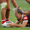 Hair-pulling incident sours Broncos' NRLW win over Dragons